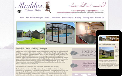 Maddox Down Holiday Cottages, click for details