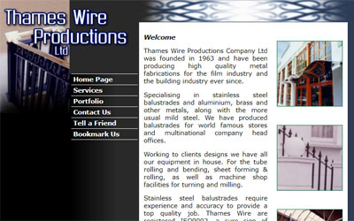 Thames Wire Productions, click for details