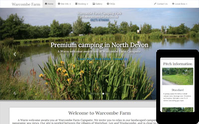 Warcombe Farm Campsite, Mortehoe & Woolacombe, North Devon