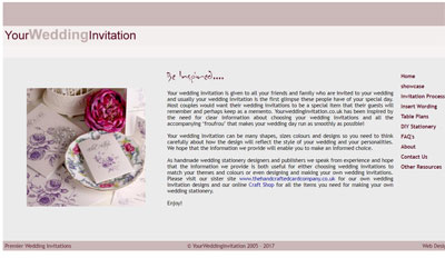 Your Wedding Invitation, click for details