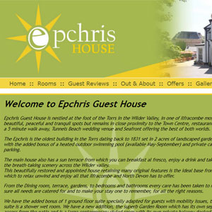 Epchris Guest House in Ilfracombe, North Devon