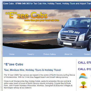 Ezee Cabs based in Woolacombe, North Devon