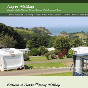 Napps Campsite in North Devon